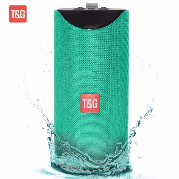 Φορητό Ηχείο T&G TG113 SWireless Bluetooth Speaker Portable Mini  Speakerphone Subwoofer Green